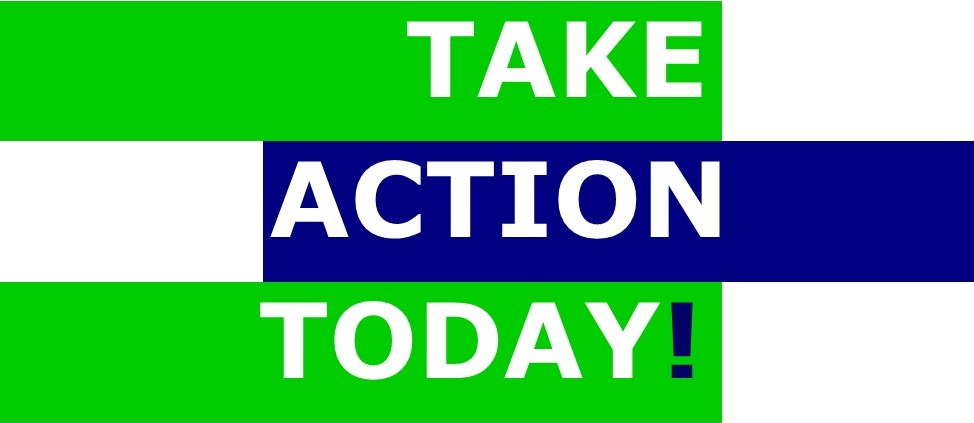 take action today, advocate